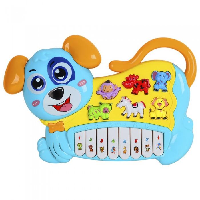 Купить Музыкальные инструменты, Музыкальный инструмент Smart Baby Пианино обучающее Собака 42 звука