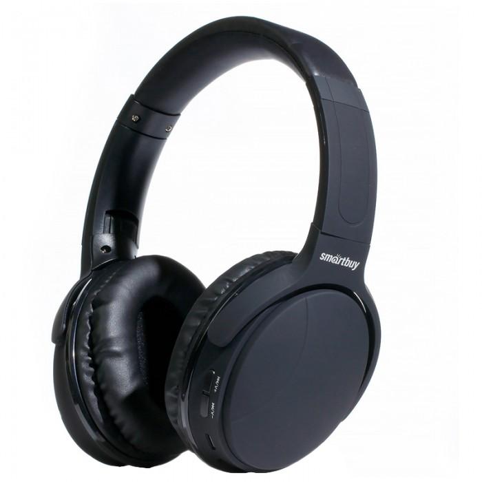 Колонки, наушники, CD-проигрыватели Smart Buy Наушники с микрофоном беспроводные Cycloner