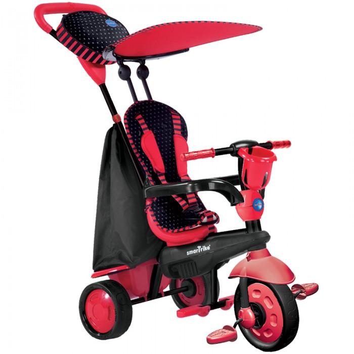 Велосипед трехколесный Smart Trike SparkSparkВелосипед трехколесный Smart Trike Spark - велосипед, который растет вместе с ребёнком, помогая ему гармонично развиваться, расширять свой кругозор – и всё это с максимальным комфортом и безопасностью.                    Особенности: стильный велосипед для малыша;  долгое использование – растёт вместе с ребёнком;  предназначен для детей от 10 месяцев до 3 лет;  прочная металлическая конструкция;  простая и быстрая сборка;  технология Touch Steering™ – сенсорное управление: удобное маневрирование лёгким касанием;  система амортизации обеспечивает мягкий и плавный ход;  удобная широкая ручка для родителей;  сиденье с высокой спинкой и 3-точечными ремнями безопасности обеспечивает комфортную и безопасную посадку в велосипеде;  навес от солнца для комфортных прогулок в летний сезон;  складная подножка;  в комплект входят подстаканник, большой мешок для игрушек и стильная сумочка-органайзер для мелочей на родительской ручке. Вес с упаковкой (брутто): 6.94 кг<br>