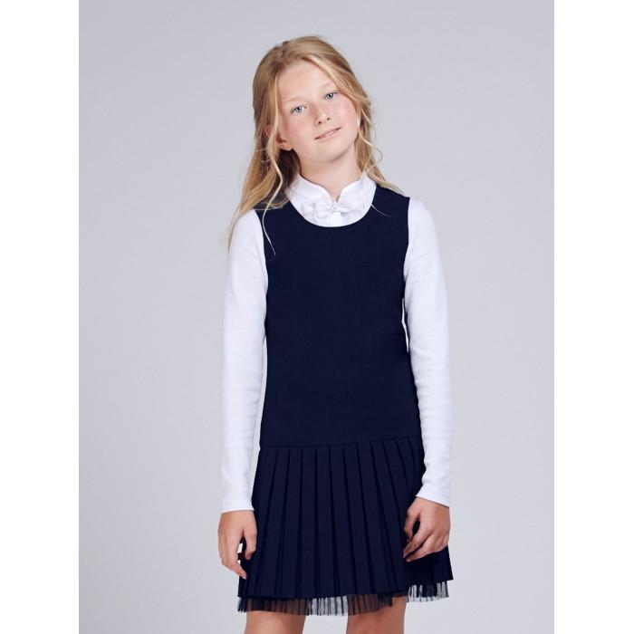 Смена Сарафан для девочки Школа D238.01