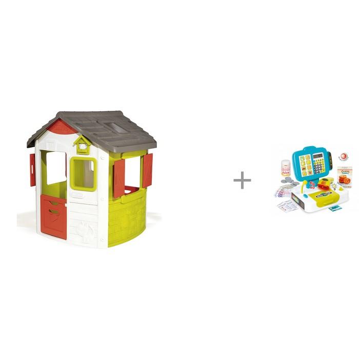 Купить Игровые домики, Smoby Игровой домик Jura Neo и Детская электронная касса с весами и аксессуарами