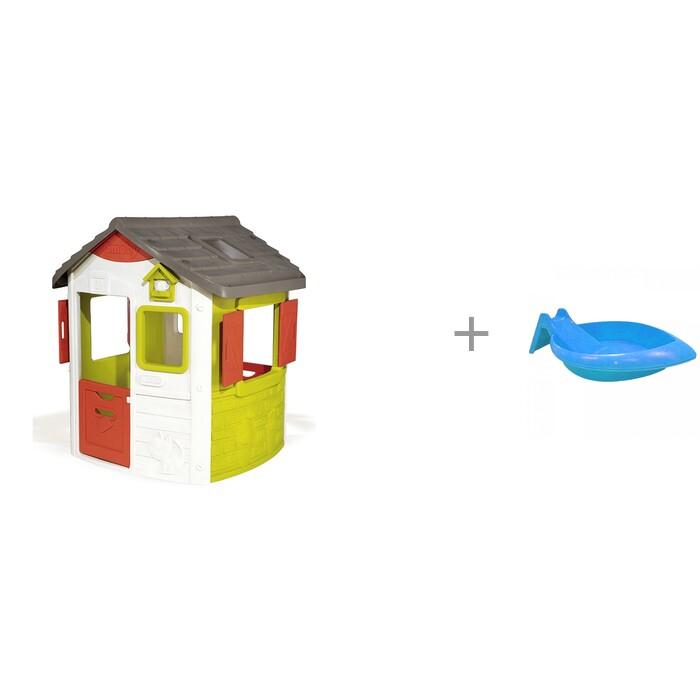 Купить Игровые домики, Smoby Игровой домик Jura Neo и Pic`n Mix Песочница-горка