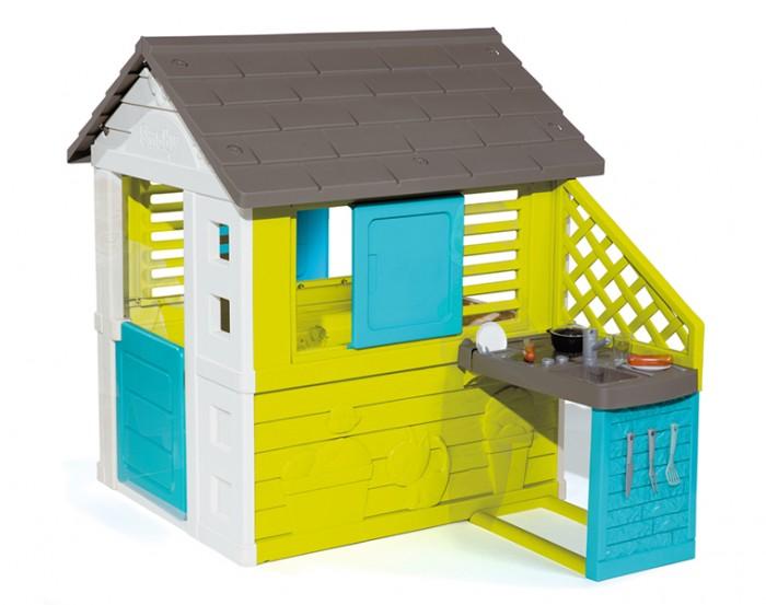 Картинка для Игровые домики Smoby Игровой домик с кухней 81071