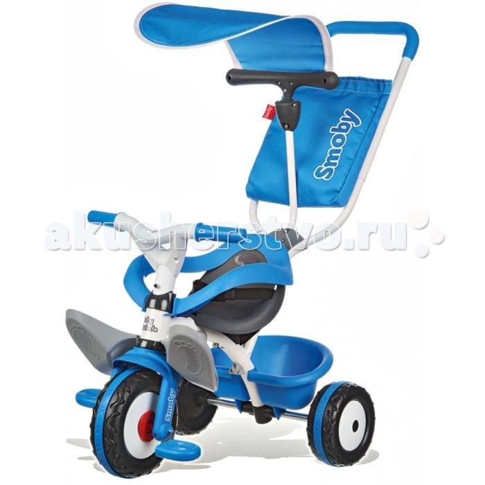 Велосипед трехколесный Smoby BaladeBaladeSTRONG>Велосипед трехколесный Smoby Balade с инновационной системой рулевого управления!   Особенности: Ребенок сидит удобно в эргономичном сиденье и прекрасно защищен дополнительным съемным кольцом безопасности.  Большие, складывающиеся подножки обеспечивают надежную фиксацию и удобное положение сидения ставленника.  Педали может быть отключены от свободного хода.  Оборудование безопасности могут быть легко удалены в зависимости от стадии развития ребенка.  Прорезинованные колеса. Управление передними колесами с помощью ручки. Нескользящие Whisper колеса, подножки.<br>