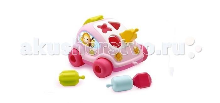 Сортеры Smoby Cotoons Развивающий автомобиль с фигурками машинка детская smoby smoby мусоровоз vroom planet