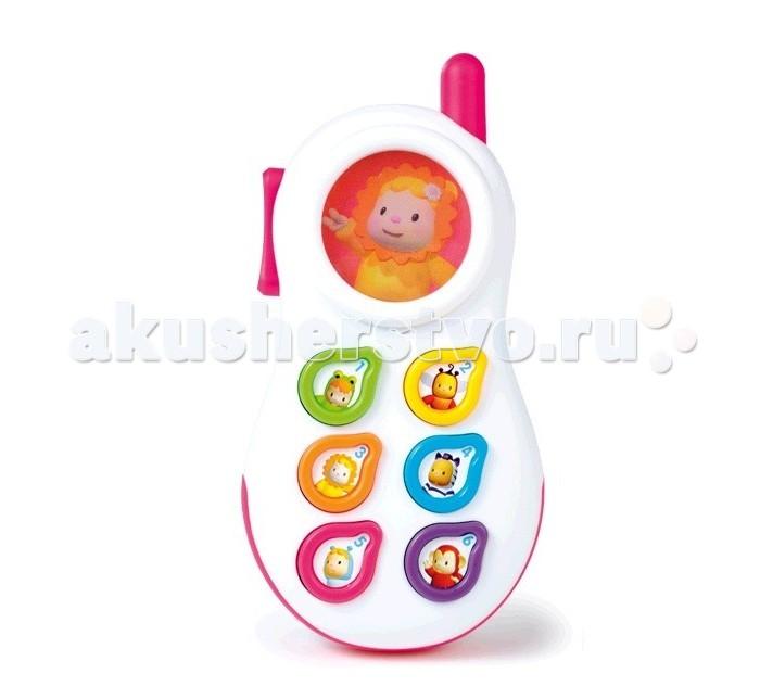 Музыкальные игрушки Smoby Cotoons Телефон со светом и звуком телефон андроид недорого китайский