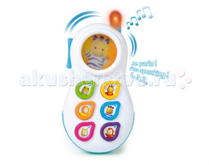Музыкальные игрушки Smoby Cotoons Телефон со светом и звуком smoby smoby телефон со светом звуком