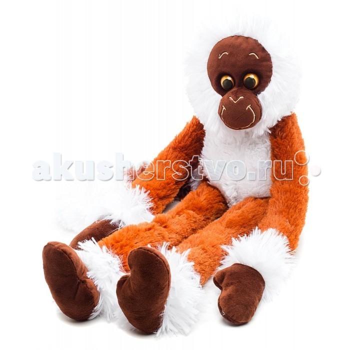 Мягкие игрушки СмолТойс Обезьянка Машка-обнимашка В60 смолтойс мягкое кресло скругленное маша и медведь смолтойс розовый
