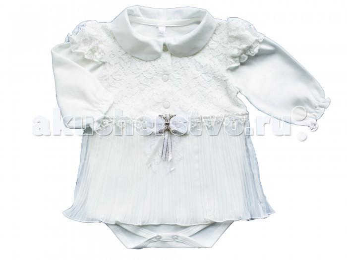 Боди и песочники Soni Kids Боди-платье с юбочкой