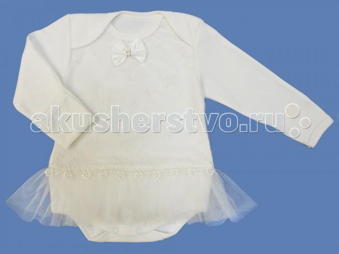 Боди и песочники Soni Kids Боди-платье закрытый рукав с короткой юбочкой
