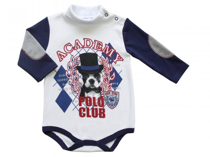 Боди и песочники Soni Kids Боди-водолазка для мальчика Polo club