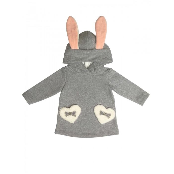 Купить Толстовки и свитшоты, Soni Kids Джемпер с капюшоном для девочки Маленький кролик