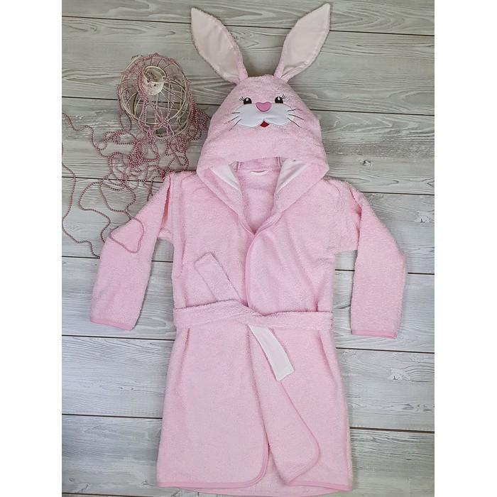 Купить Домашняя одежда, Sonia Kids Халат махровый для девочки Зайчонок