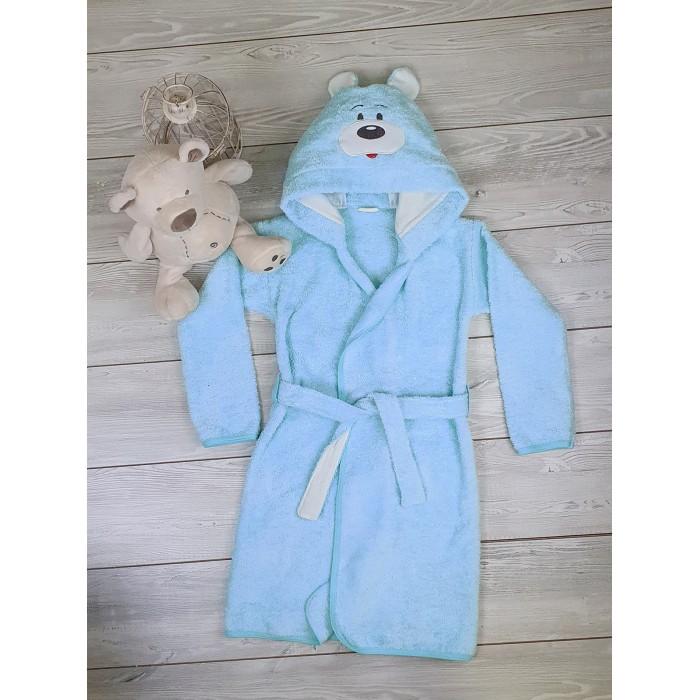 Купить Домашняя одежда, Sonia Kids Халат махровый для мальчика Медвежонок