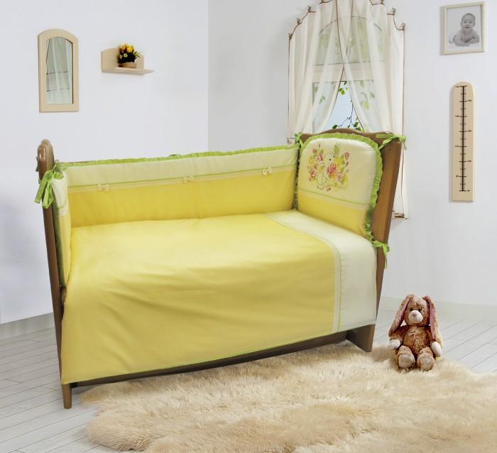 комплекты в кроватку bytwinz слоники 6 предметов Комплекты в кроватку Sonia Kids Мой садик (6 предметов) 209022
