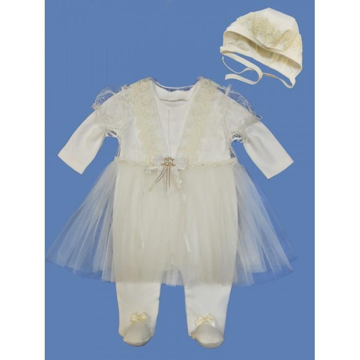 Комплекты детской одежды Soni Kids Комплект для девочки (комбинезон и чепчик) комплекты детской одежды soni kids комплект майка и шорты веселый зоопарк
