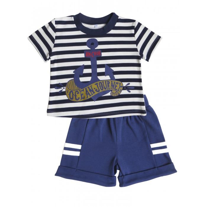 Детская одежда , Комплекты детской одежды Soni Kids Комплект (футболка и шорты) Морская коллекция арт: 539786 -  Комплекты детской одежды