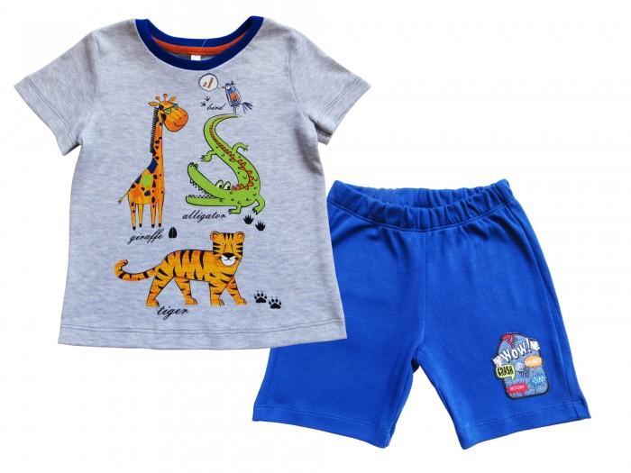 Комплекты детской одежды Soni Kids Комплект футболка и шорты Сафари Л9121009 soni kids комплект на выписку для девочки soni kids
