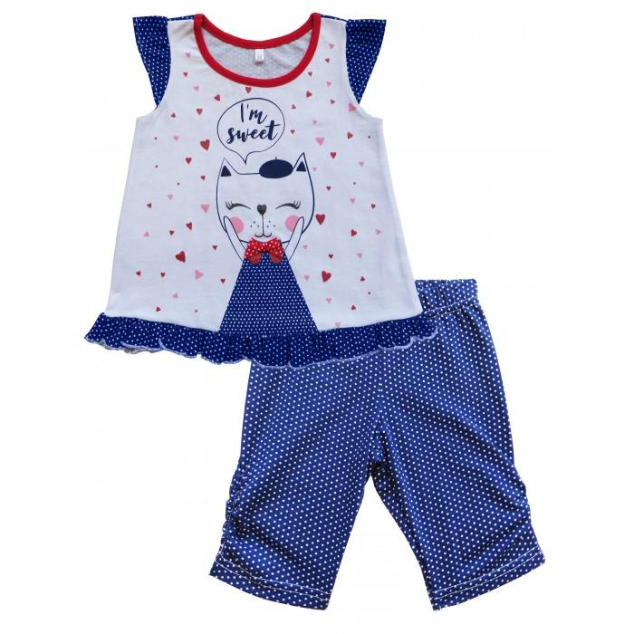 Комплекты детской одежды Soni Kids Комплект майка и шорты Клубничка soni kids комплект на выписку для девочки soni kids