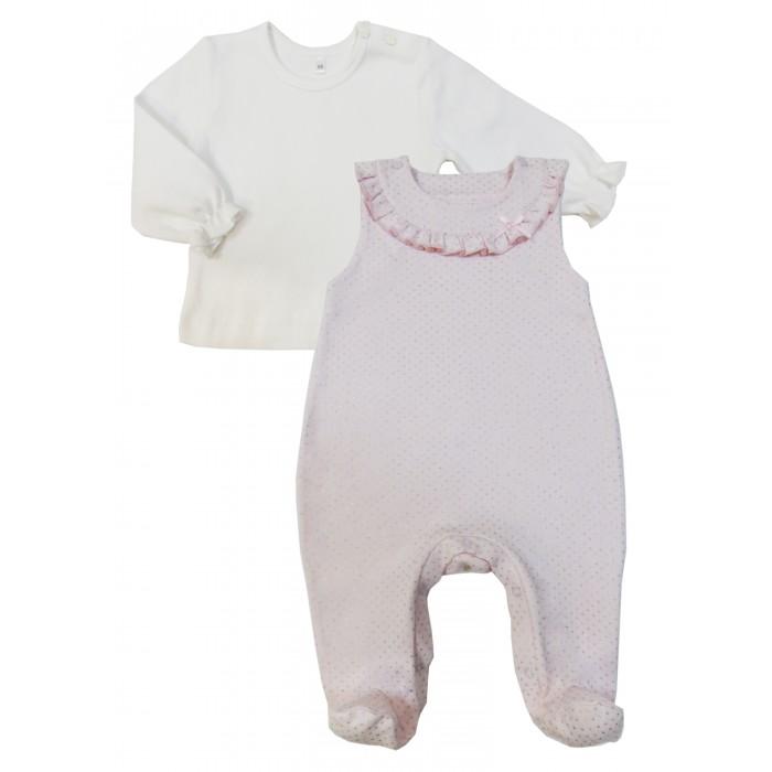 Комплекты детской одежды Soni Kids Комплект (полукомбинезон и кофточка) Парижские каникулы комплекты детской одежды soni kids комплект майка и шорты веселый зоопарк
