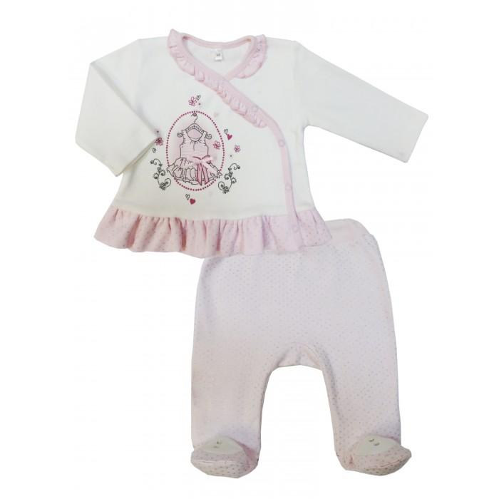 Комплекты детской одежды Soni Kids Комплект (ползунки и кофточка) Парижские каникулы комплекты детской одежды soni kids комплект майка и шорты веселый зоопарк