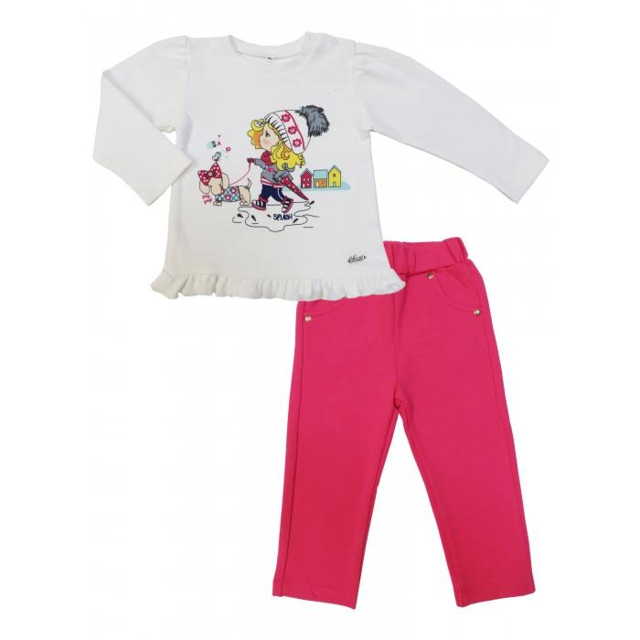 Комплекты детской одежды Soni Kids Комплект (кофточка и брюки) Прогулка с Мими З7121031 комплекты детской одежды soni kids комплект кофточка и брюки прогулка с мими з7121031