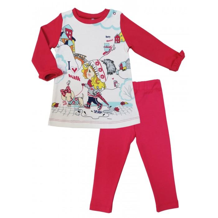 Комплекты детской одежды Soni Kids Комплект (туника и брюки эластичные) Прогулка с Мими