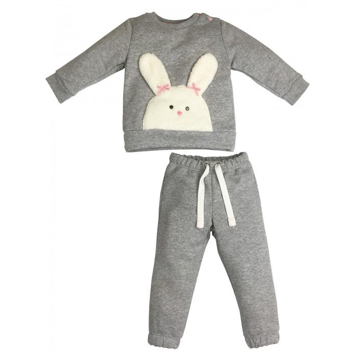 Soni Kids Костюм для девочки (джемпер и брюки) Маленький кролик