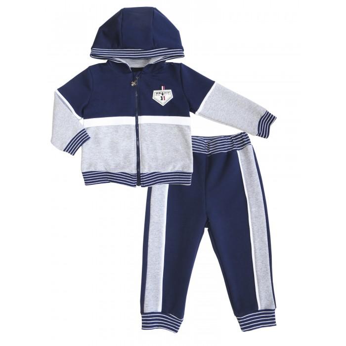 Комплекты детской одежды Soni Kids Костюм тренировочный для мальчика (толстовка+брюки) Polo club цена