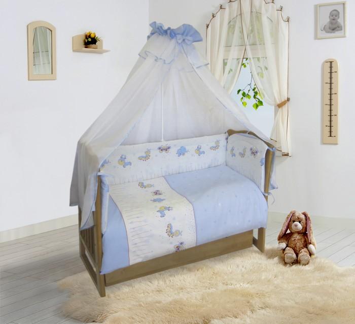Комплект в кроватку Soni Kids Ласковое лето (7 предметов) 20105