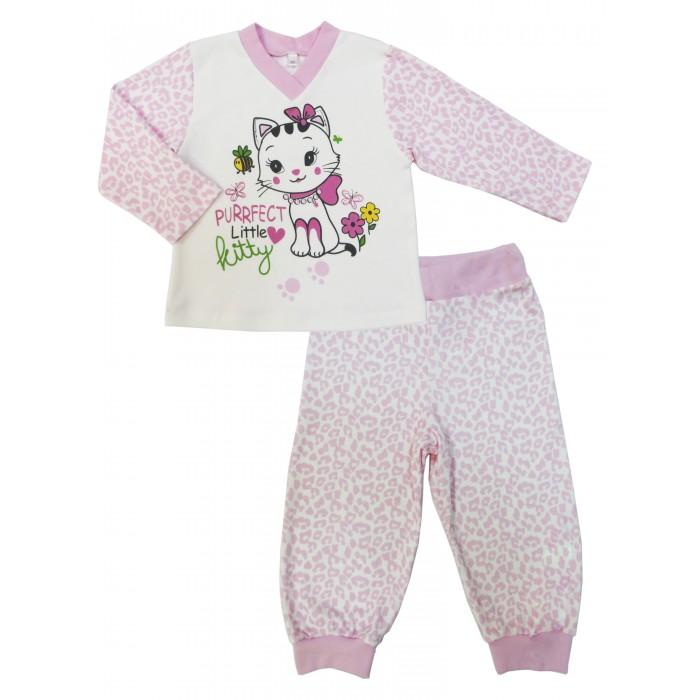 Детская одежда , Пижамы и ночные сорочки Soni Kids Пижама длинный рукав (кофточка и штанишки) Маленькая леди арт: 354385 -  Пижамы и ночные сорочки