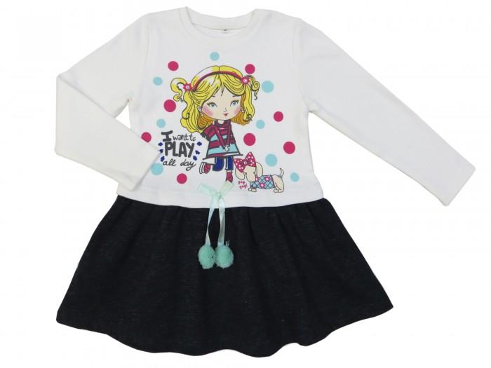 Детская одежда , Детские платья и сарафаны Soni Kids Платье Прогулка с Мими арт: 353560 -  Детские платья и сарафаны