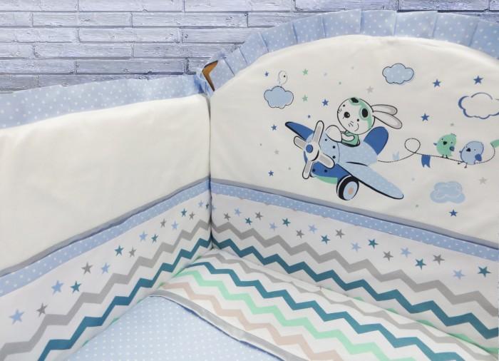 Комплекты в кроватку Soni Kids Зайка-летчик (6 предметов)