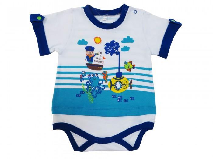 Soni Kids Боди короткий рукав Подводный мир