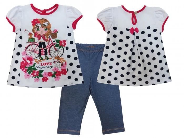 комплекты детской одежды soni kids комплект футболка и бриджи каникулы мари Комплекты детской одежды Soni Kids Комплект (футболка и лосины) Каникулы М��ри