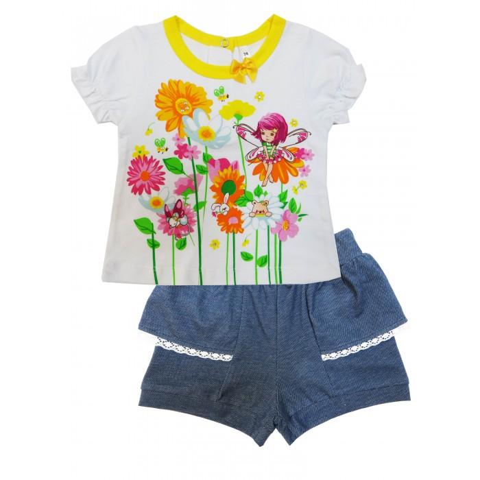 Комплекты детской одежды Soni Kids Комплект (футболка и шорты) Феечка комплекты детской одежды soni kids комплект майка и шорты веселый зоопарк