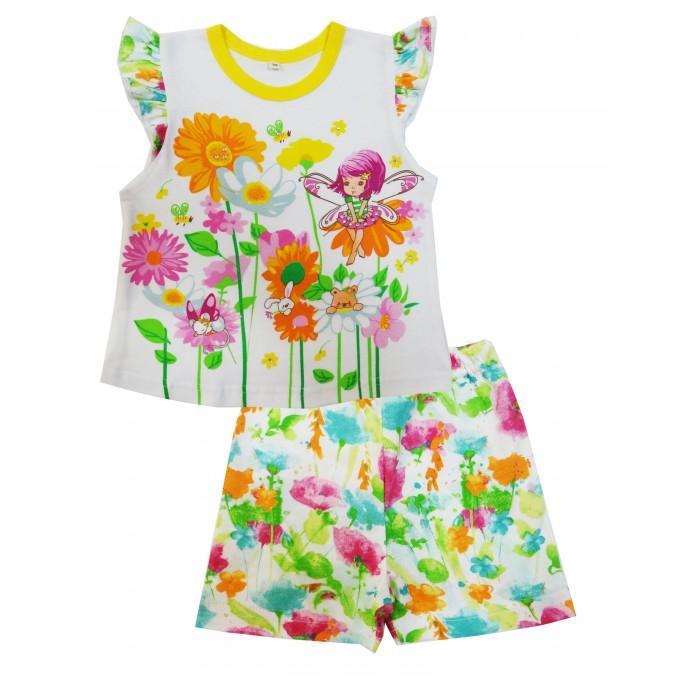 Комплекты детской одежды Soni Kids Комплект (майка и шорты) Феечка комплекты детской одежды soni kids комплект майка и шорты веселый зоопарк