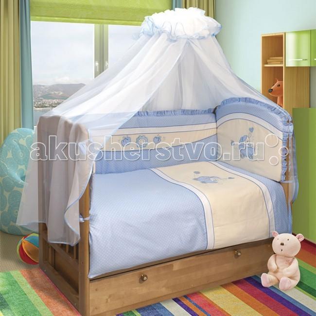 Фото - Комплекты в кроватку Soni Kids Лапочка в колясочке №1 (6 предметов) комплекты в кроватку soni kids солнечные мишки 7 предметов