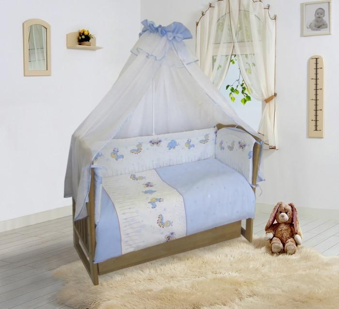 Комплекты в кроватку Soni Kids Ласковое лето 20105 (7 предметов) балдахин на детскую кроватку купить в пензе