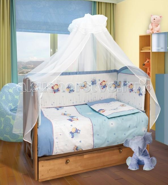 Фото - Комплекты в кроватку Soni Kids Ласковое лето (7 предметов) комплекты в кроватку soni kids солнечные мишки 7 предметов