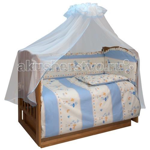 Бампер для кроватки Soni Kids Маленький секрет