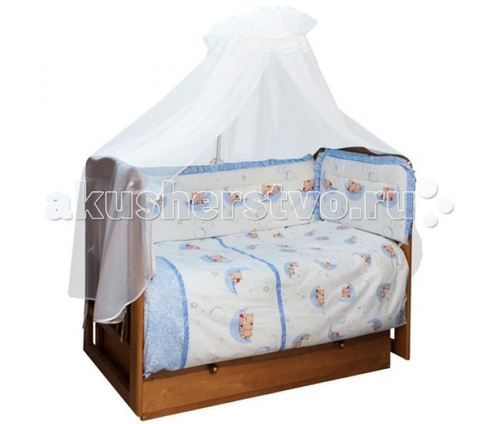 Постельное белье Soni Kids Мишки-лунишки (3 предмета) постельное белье soni kids в кроватку 3 предмета
