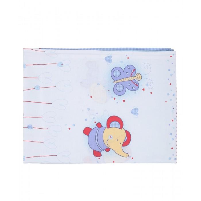 Простыни Soni Kids Простынка Ласковое лето 110х150 комплекты в кроватку soni kids ласковое лето 20105 7 предметов