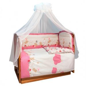 Постельное белье Soni Kids В уютных облачках (3 предмета) постельное белье soni kids в кроватку 3 предмета