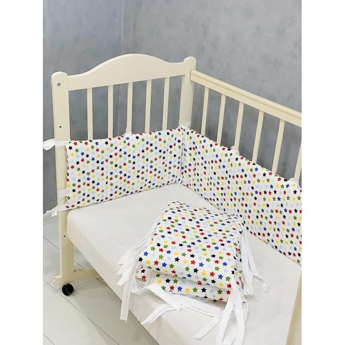 Купить Бортики в кроватку, Бортик в кроватку Соника бампер Звёзды (2 предмета)