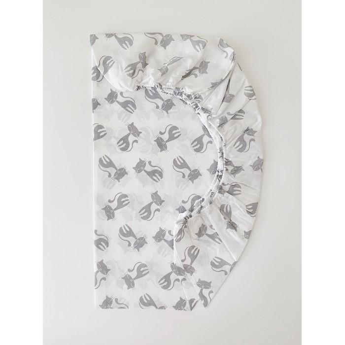 Простыни Соника Простынь на резинке Кошки 120х60х10