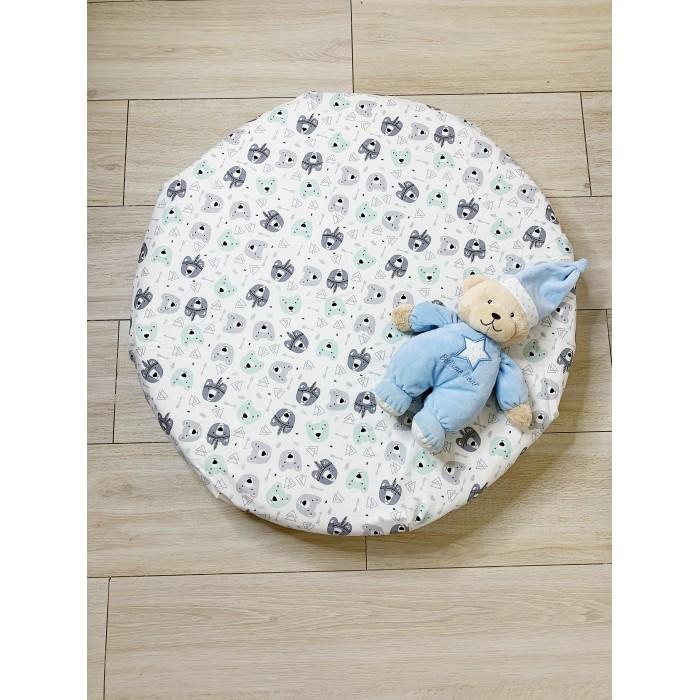 Купить Простыни, Соника Простынь на резинке на круглый матрас Мишки 75x75 см