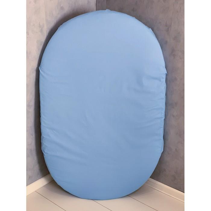 Купить Простыни, Соника Простынь на резинке на овальный матрас из поплина 125x75 см