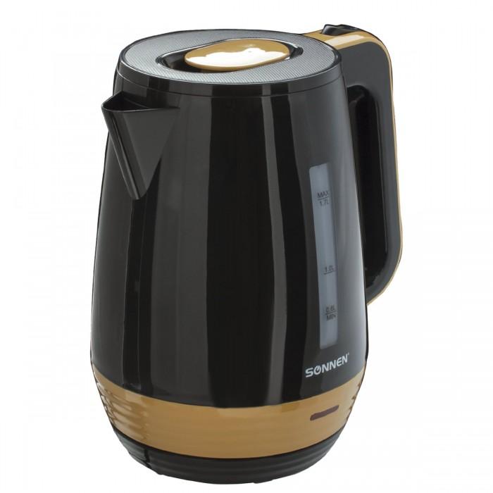 Купить Бытовая техника, Sonnen Чайник KT-1776 пластик 1.7 л
