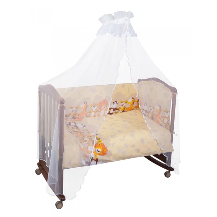 Бампер для кроватки Сонный гномик Африка